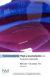 Flujo y Acumulación con Francisco Valverde. Imagen cortesía NM Contemporáneo