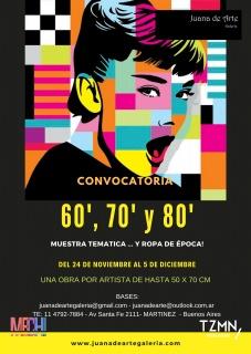 60', 70' y 80'