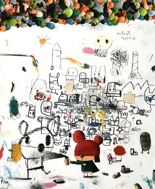 Obra de Edgar Plans - Cortesía Granada Gallery