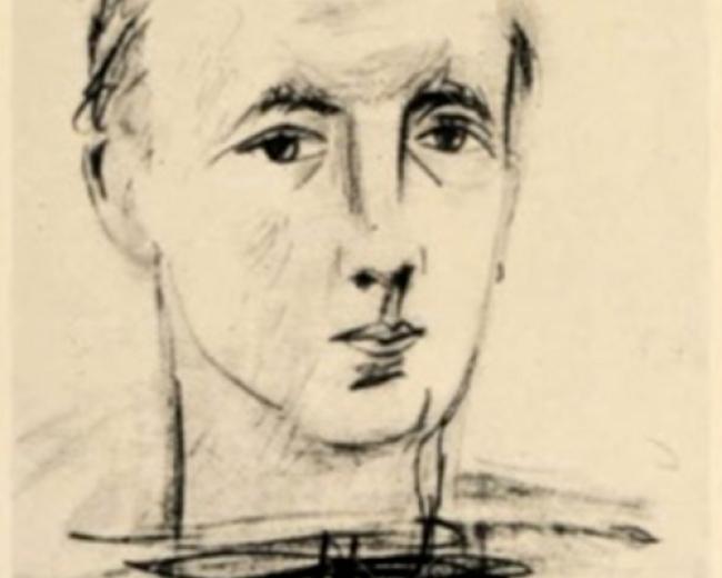 Éluard y Picasso — Cortesía del Museu Picasso de Barcelona
