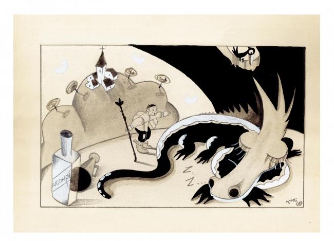 Piti Barolozzi — Cortesía del Museo ABC
