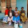 Mujeres gestantes en el centro de salud de Padibe (Uganda) — Cortesía de la Fundación Barceló