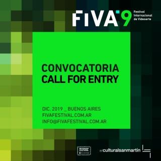 FIVA Novena Edición - Festival Internacional de Videoarte - Buenos Aires 2019