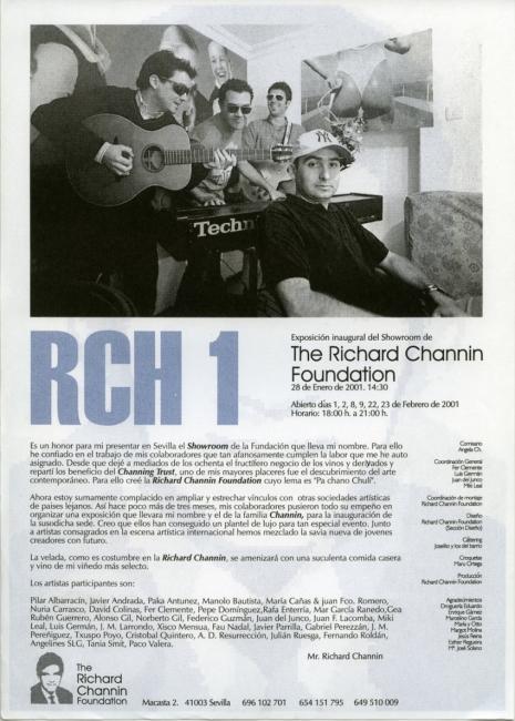 Folleto-cartel exposicion colectiva RCH-1_ 2001
