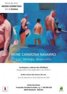 Irene Carmona Navarro. Luz, Sentido, Detención