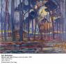 Piet Mondrian. Woods near Oele, 1908. Óleo sobre lienzo, 128x158 cm. Kunstmuseum Den Haag — Cortesía del Museo Nacional Centro de Arte Reina Sofía