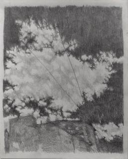 Guillermo Mena. Nubes distantes, 2021 — Cortesía de Meridiano (Cámara Argentina de Galerías de Arte)