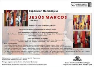 Exposición Homenaje a Jesús Marcos (1938-2018)