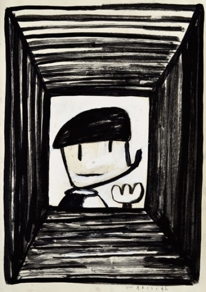 Mariscal, Piker. Dibujo original, 2011