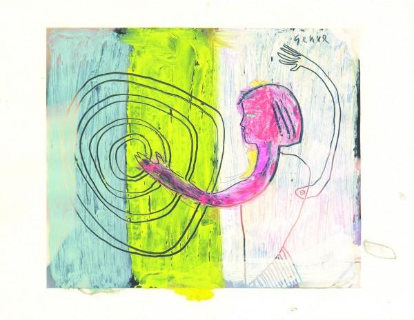 Cartão Menina - - Ralph Gehre - Recluso