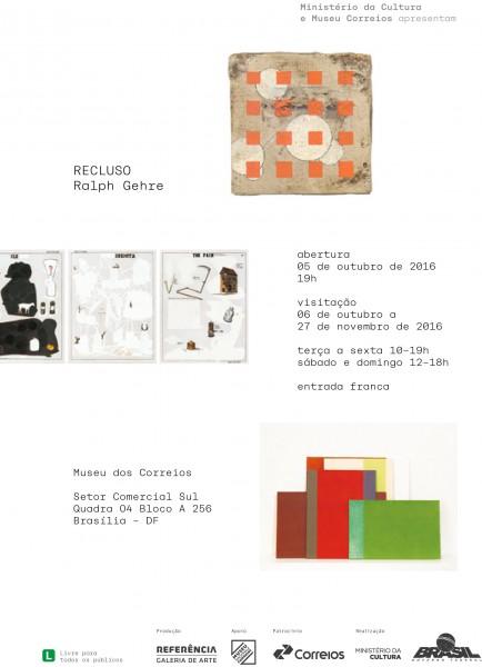 Convite - Ralph Gehre - Recluso