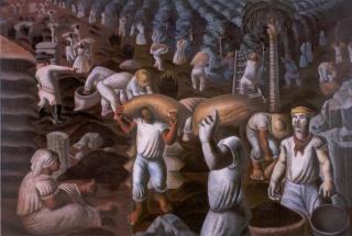 O Café, de 1935, é uma das obras de Portinari que será exibida na mostra