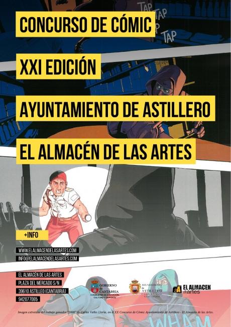 XXI Concurso de Cómic Ayuntamiento de Astillero - El Almacén de las Artes