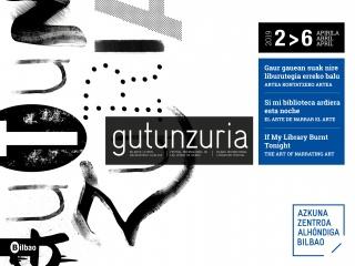Gutun Zuria: «Si mi biblioteca ardiera esta noche. El arte de narrar el arte»
