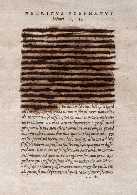 Obra de Joan Fontcuberta — Cortesía de la Casa de Subastas Odalys, de Madrid