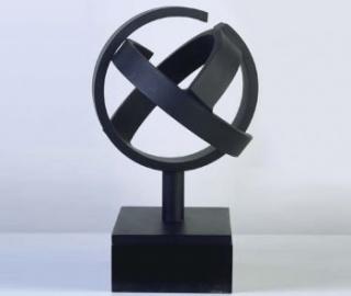 Jorge Oteiza, Desocupación de la esfera. Conclusión experimental nº 2, variante, 1958 — Cortesía del Museo de Bellas Artes de Asturias