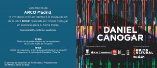 Daniel Canogar. Scroll - Invitación prensa