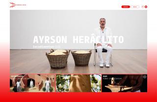 Sacudimentos at Videobrasil Online's homepage. © Nina Farkas. Ayrson Heráclito's photo © Kunstmuseum Stuttgart/arge lola.