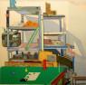 Manuel Garcés Blancart. Mixta sobre tela, 150x150 cm. — Cortesía de la galería Birimbao