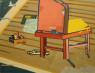 Manuel Garcés Blancart. Mixta sobre tela, 65x80 cm. — Cortesía de la galería Birimbao