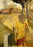 Manuel Garcés Blancart. Acrílico sobre papel, 64 x 45 — Cortesía de la galería Birimbao