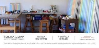 Verónica di Toro, Rítmica del tiempo