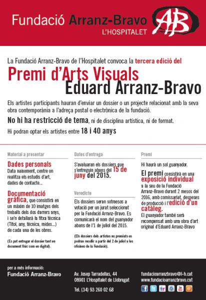 III PREMI D\'ARTS VISUALS EDUARD ARRANZ-BRAVO