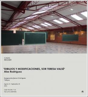 Alex Rodríguez, Dibujos y modificaciones, sor Teresa Valsé