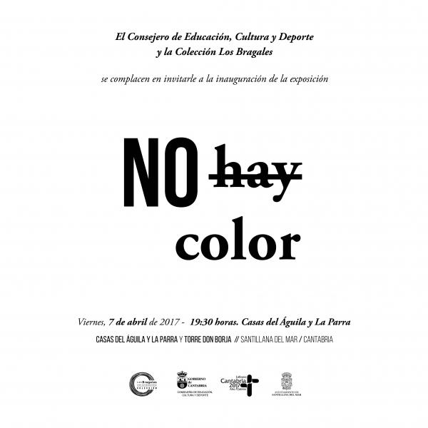 No hay color