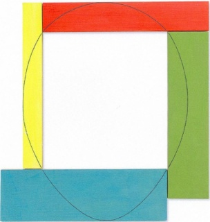 Model for Four Colour Frame Painting nº1, 1983
