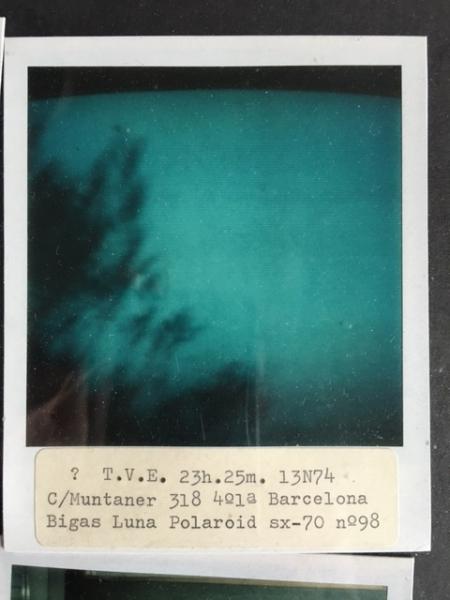 Richard Wentworth, Imagen de archivo, 1974-75