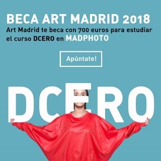 Beca Art Madrid para el curso anual Dcero de Madphoto 2018