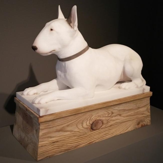 Gerard Mas, Deity Dog — Cortesía de Aurora Vigil-Escalera Galería de Arte