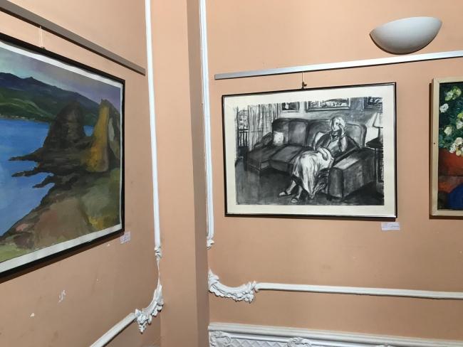 Obras expuestas Silvia G. Armesto