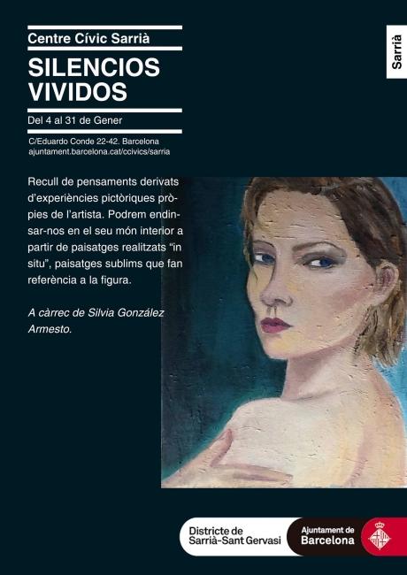 Cartel referente a la exposición i individual de Silvia G.Armesto