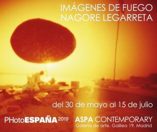 Imágenes de Fuego , de Nagore Legarreta , en ASPA Contemporary. PHE 19