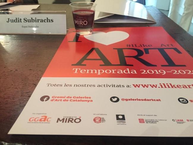 Presentación de la nueva temporada de #ILike_Art 2019 - 2020