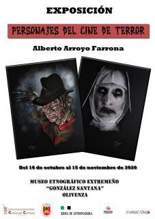 Alberto Arroyo Farrona. Personajes del cine de terror