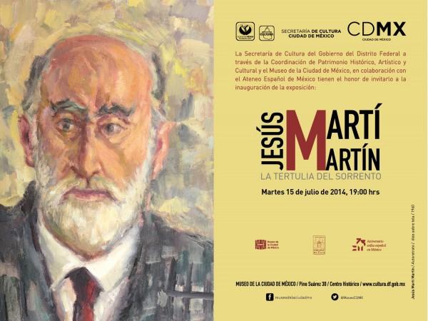 Jesús Martí Martín, La tertulia del Sorrento