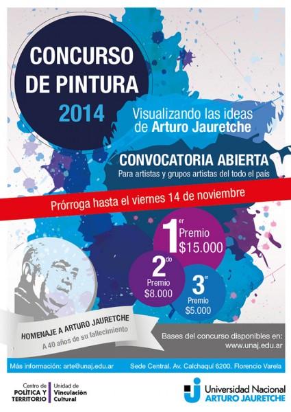 Concurso de pintura 2014. Visualizando las ideas de Arturo Jauretche