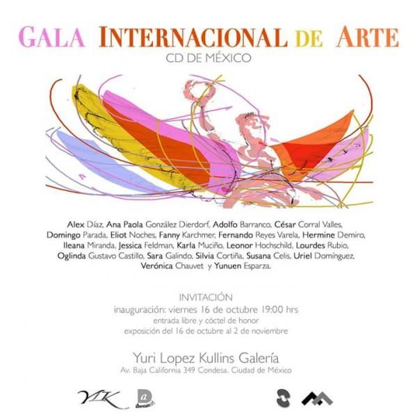 Cartel. ?Gala Internacional de Arte CD DE MEXICO