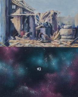 DEIH-Entre-los-escombros-100x80-Acrilico_tela