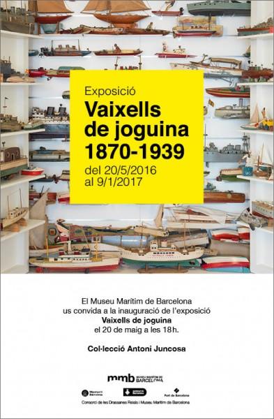 Vaixells de joguina 1870-1939