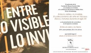 Entre lo visible y lo invisible. El coleccionismo de arte en Vizcaya, Álava y Asturias durante el siglo XX