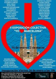 Cartel anunciador referente a la participación de los artistas convocados