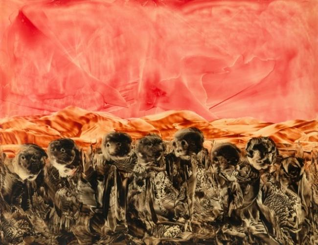 Juan Antonio Guirado 'Hambrunas perdidas' (Lost Famine), 1995-2005 – Cortesía de Lee Sharrock