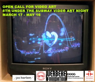 8 Under the Subway Video Art Night. Open Call for Video Art 2018