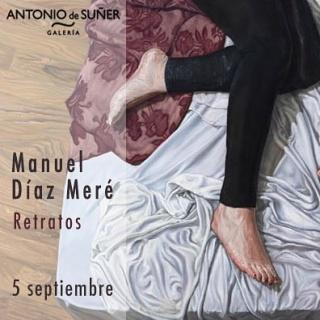 """Exposición """"Retratos"""". Manuel Diaz Meré"""