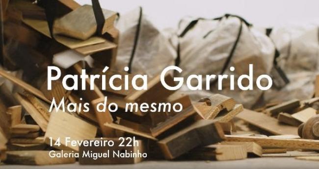 Patrícia Garrido. Mais do mesmo