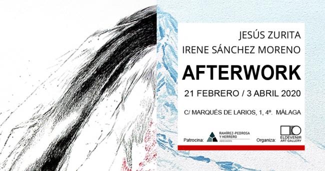 Cartel Exposición Afterwork de Eldevenir Art Gallery